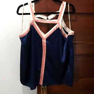 Forever 21+ Color Block Top